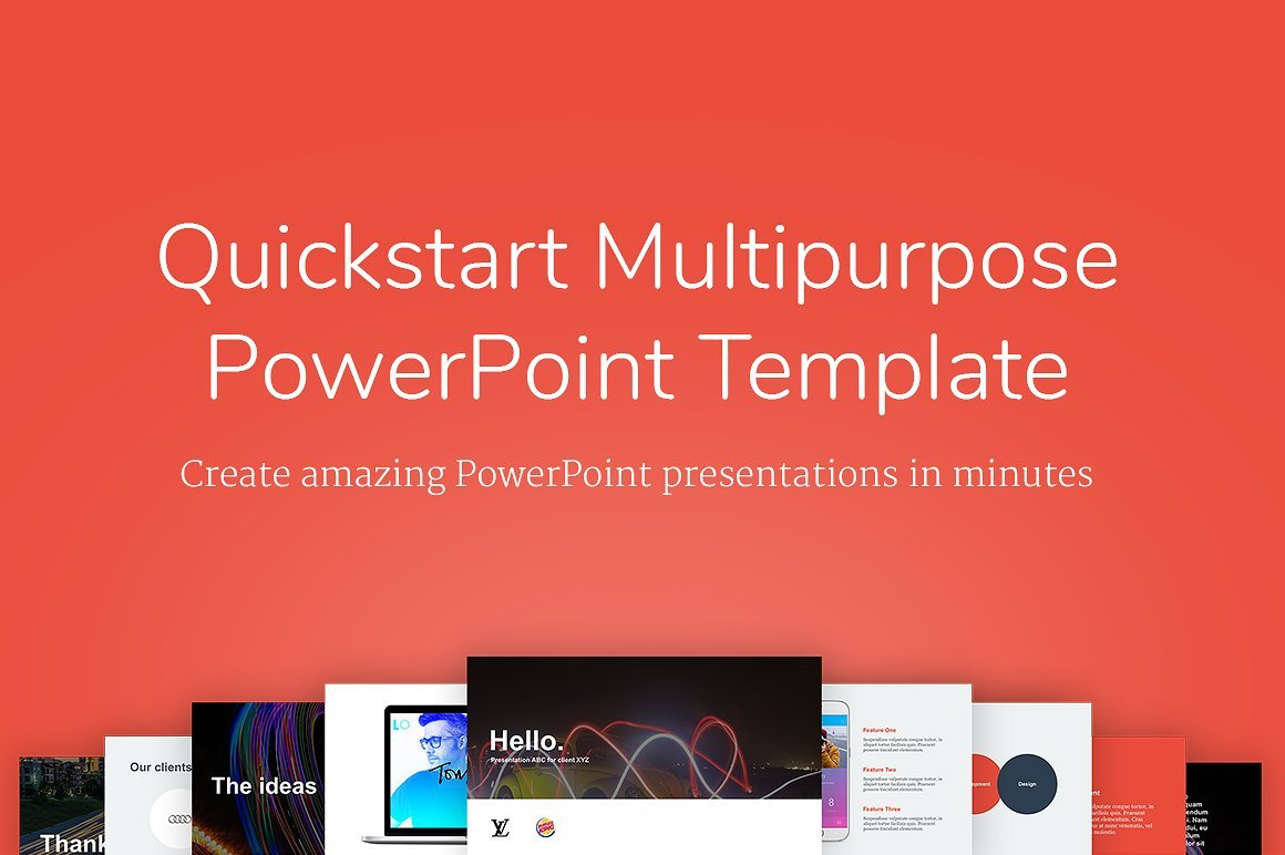 Powerpoint Template download and use