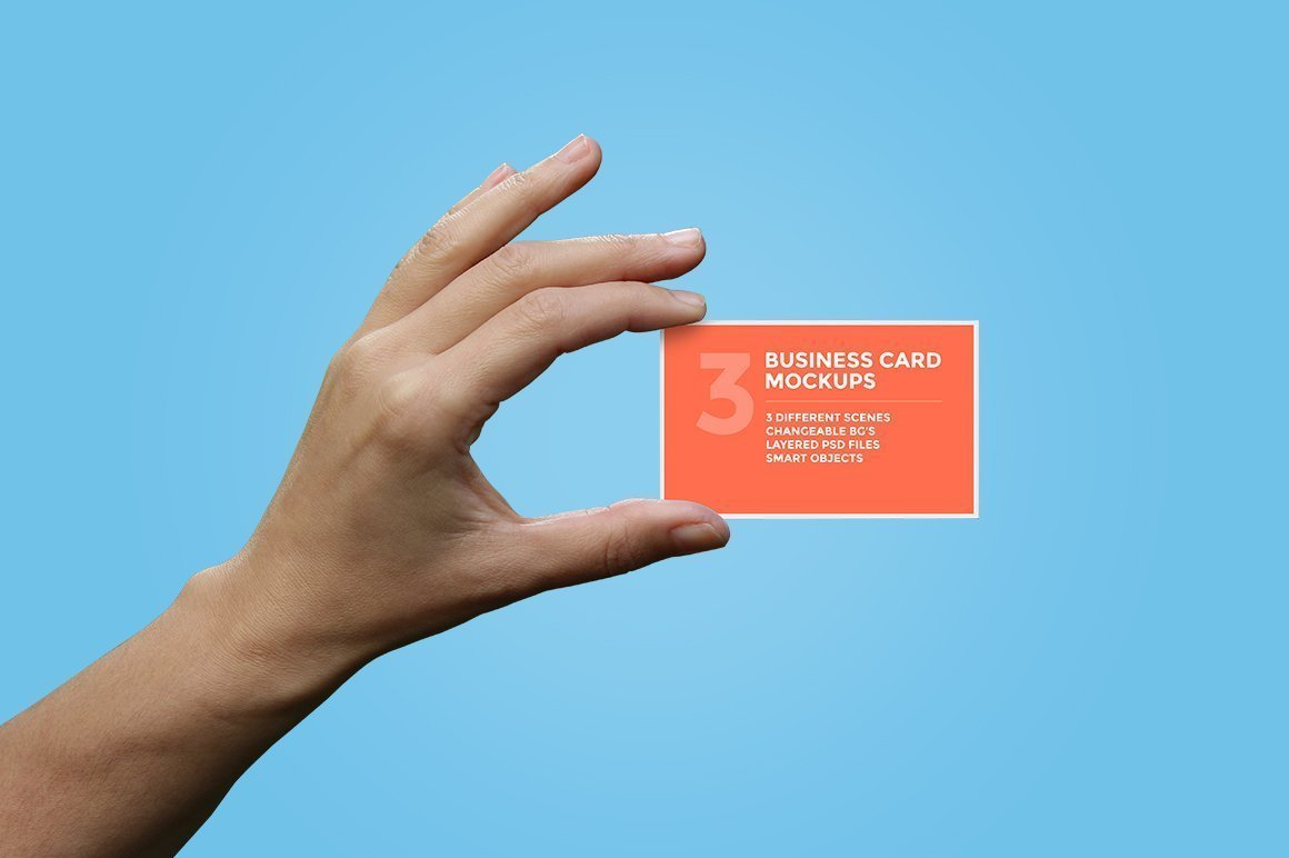 hand_holding_business card psd mockup download