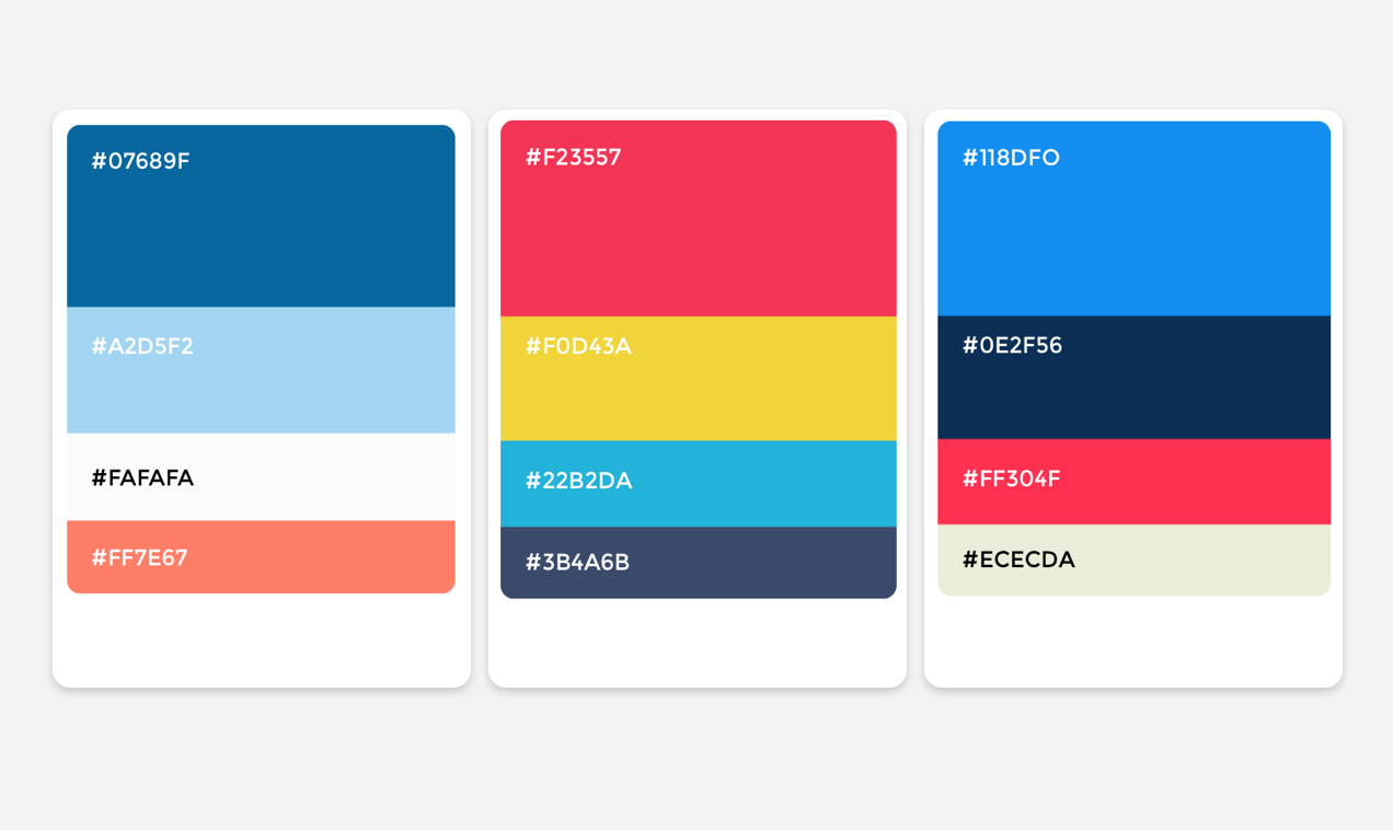 Startup Color Combinations